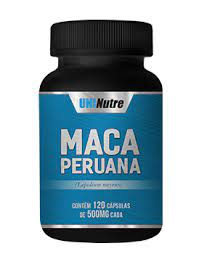 MACA PERUANA | 120 Cápsulas - UNI NUTRE