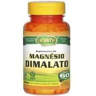Magnésio Dimalato | Unilife | 60 cápsulas