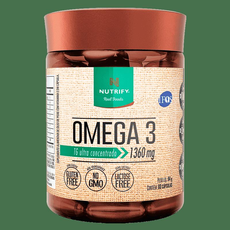 OMEGA 3 60X1360MG NUTRIFY