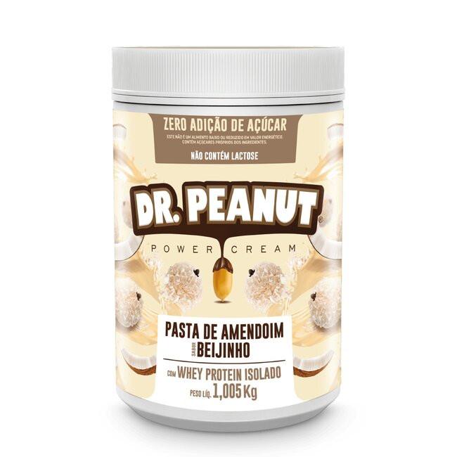 Pasta de amendoim Beijinho com Whey Protein 1,005kg