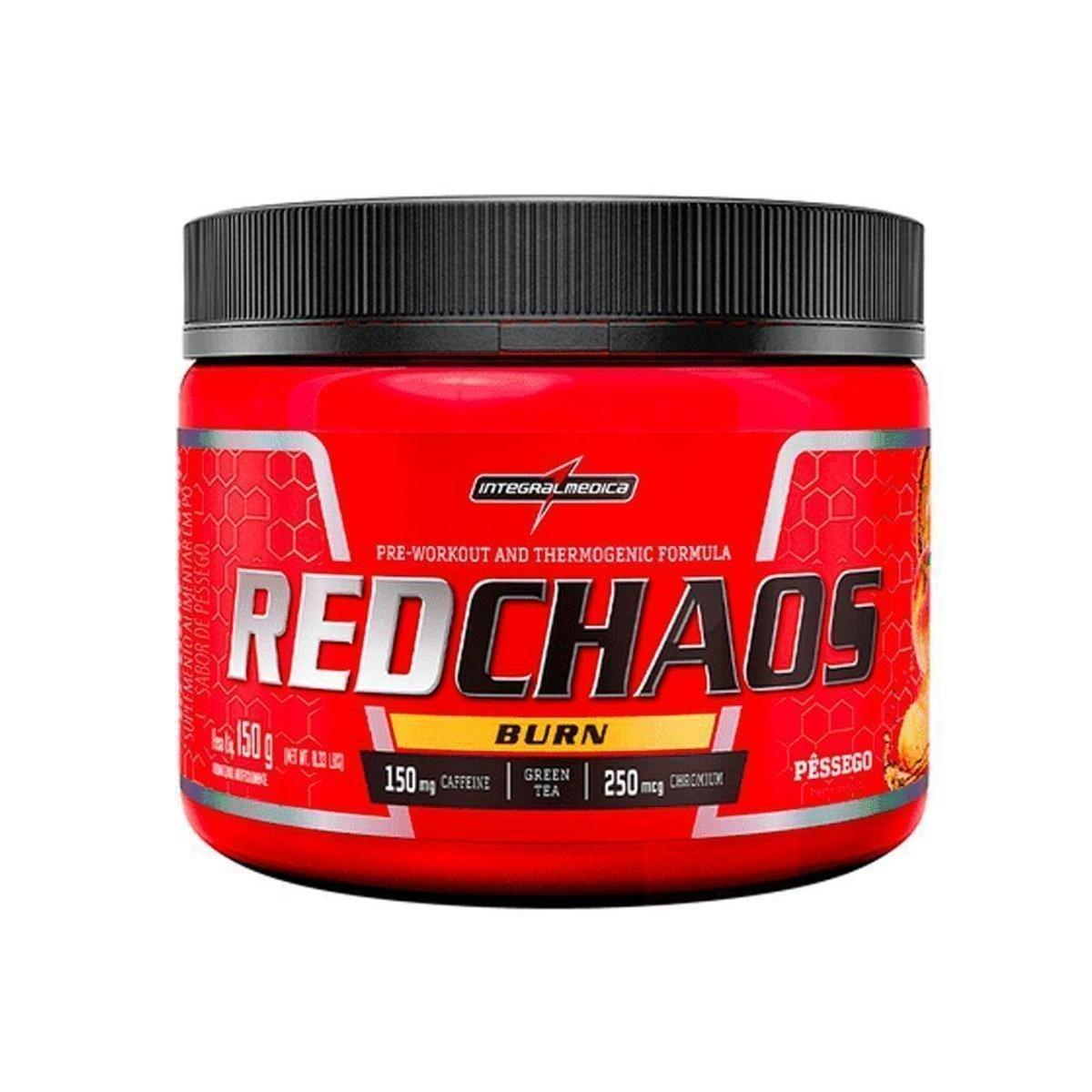 RED CHAOS BURN | 150G | PÊSSEGO | INTEGRALMEDICA