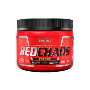 RED CHAOS ENERGY | 150G | BUBBLE GUM | INTEGRALMEDICA