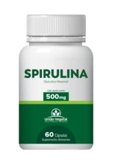 Spirulina | 500mg | 60 cápsulas | União Vegetal