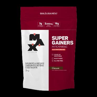 SUPER GAINERS 3KG | CHOCOLATE | MAX TITANIUM