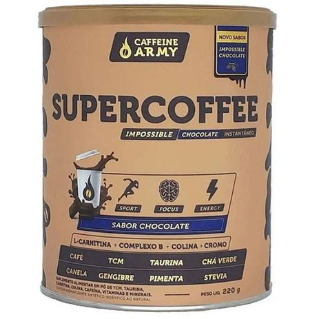 SUPERCOFFEE   220G   CHOCOLATE ARMY