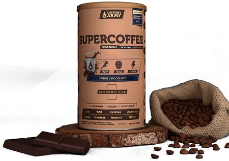 SUPERCOFFEE ECONOMIC SIZE | 380G | CHOCOLATE | ARMY