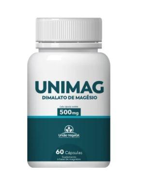 UNIMAG 60X500MG UNIAO VEGETAL