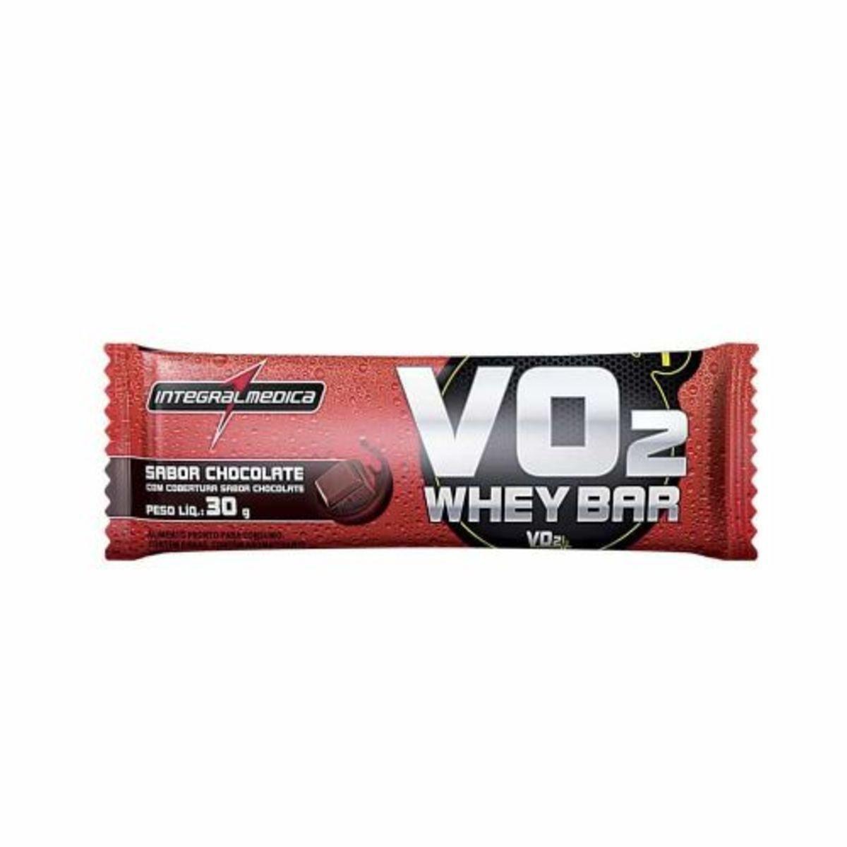VO2 PROTEIN BAR   30G   CHOCOLATE   INTEGRAL EDICA