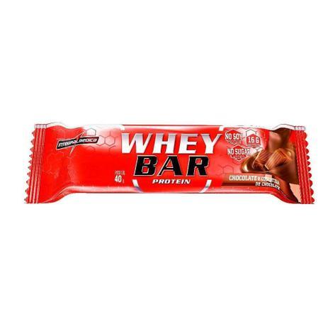WHEY BAR PROTEIN 24X40G CHOCOLATE/COBERTURA CHOCOLATE INTEGRAL MEDICA