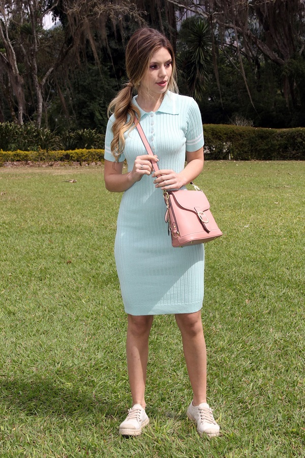 Vestido Linha Polo