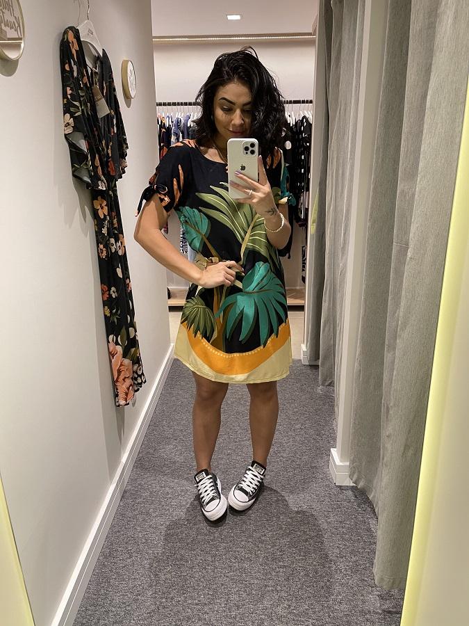 Vestido Viscose Beta
