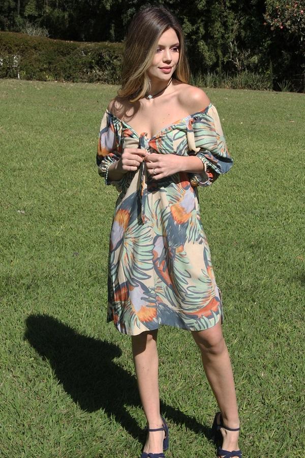 Vestido Viscose Thaisa
