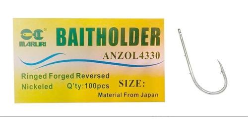 Anzol 4330 Baitholder Nº1 C/ 10 Und. Maruri