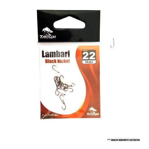Anzol Lambari Black Nickel Tacom