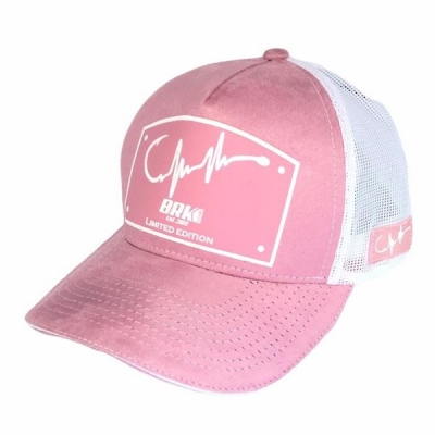 Boné BRK Feminino Heart Pulse Rosa B085