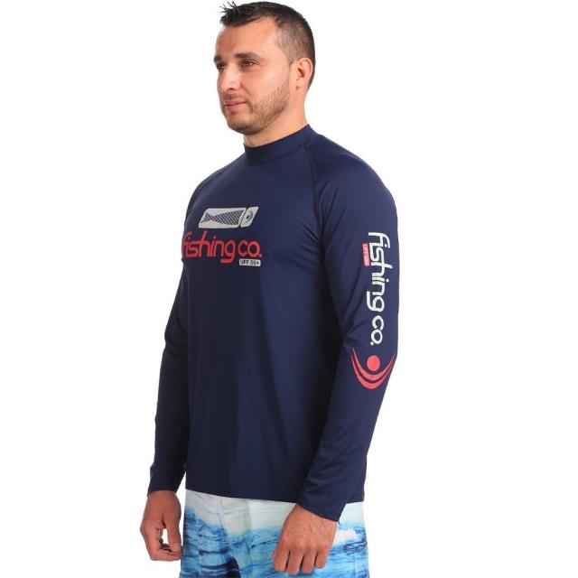 Camiseta Basica UPF50+ Marinho Fishing Co.