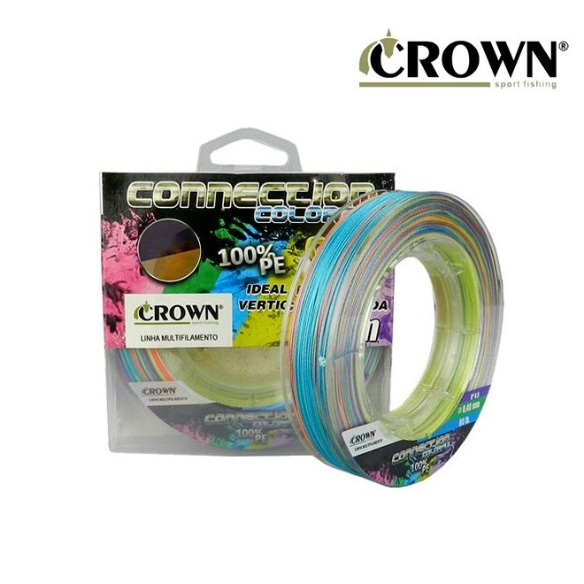 Linha Connection Colorful 9x 300m Crown