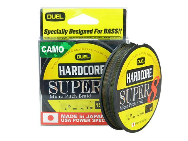 Linha Multifilamento Hardcore Super 8 Camo 150yd Duel