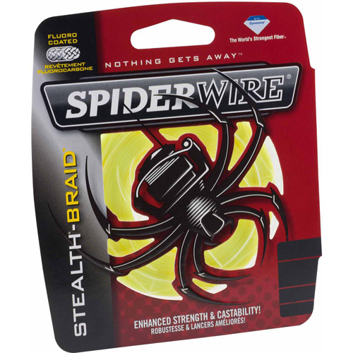 Linha Multifilamento Stealth Hi-Vis 200yd Spider Wire