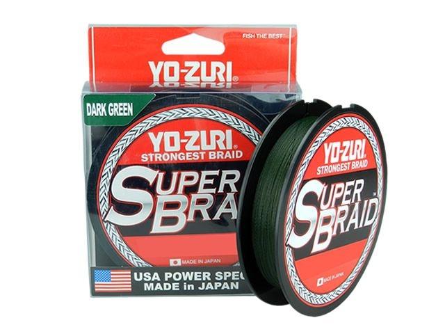Linha Multifilamento Super Braid Dark Green 150yd Yo-Zuri