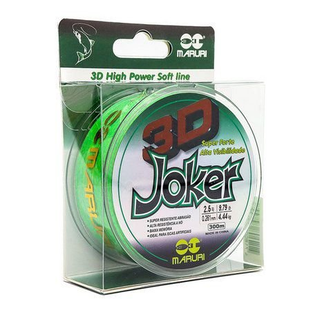 Linha Soft Joker 3D Maruri