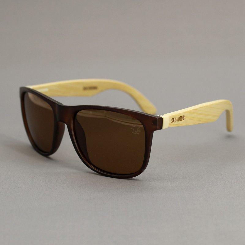 Óculos de Sol Bambu - Lente Marrom - Sacudidos