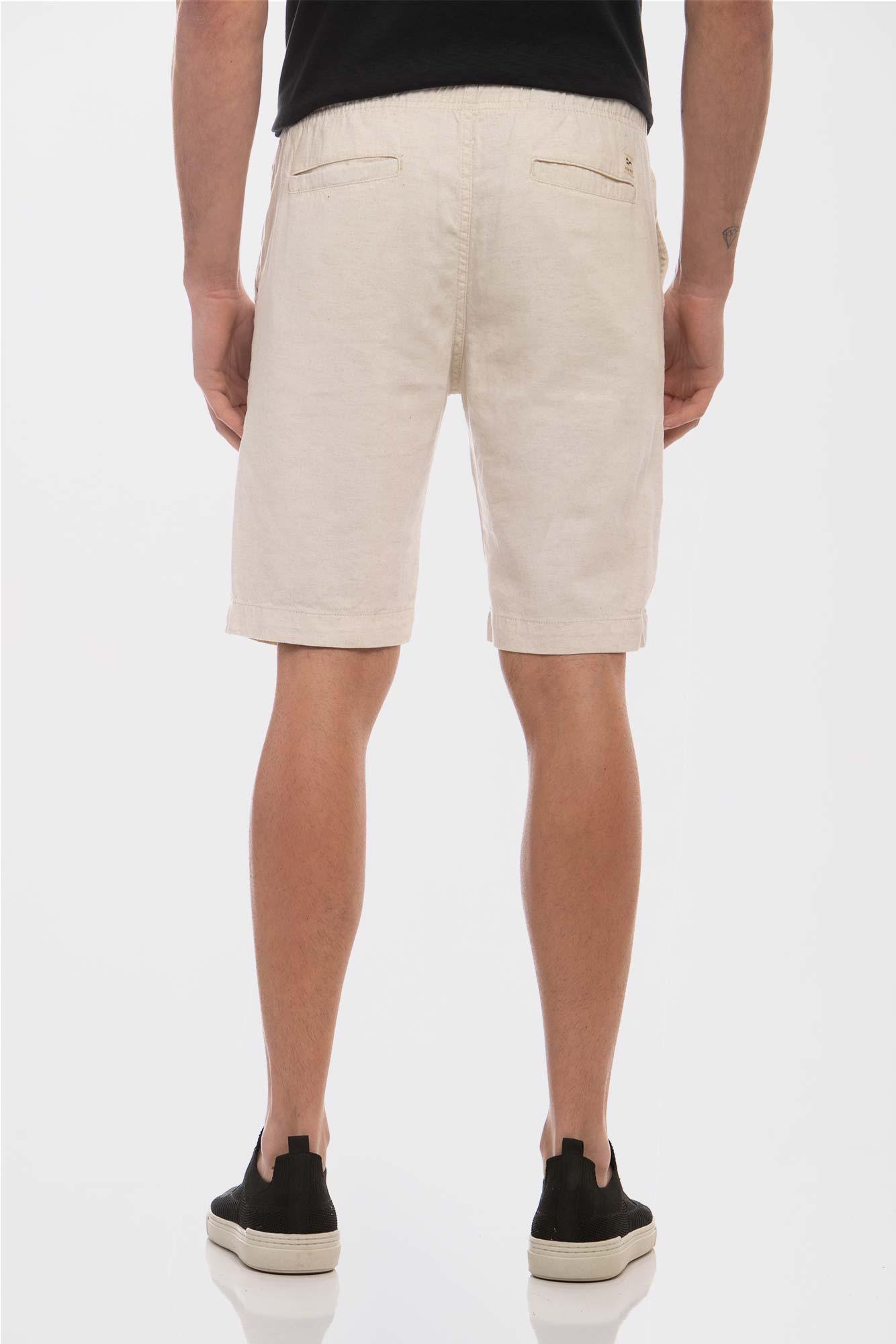 Bermuda Cotton Linho Natural