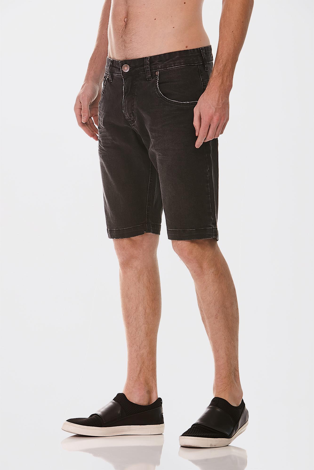 Bermuda Jeans Black