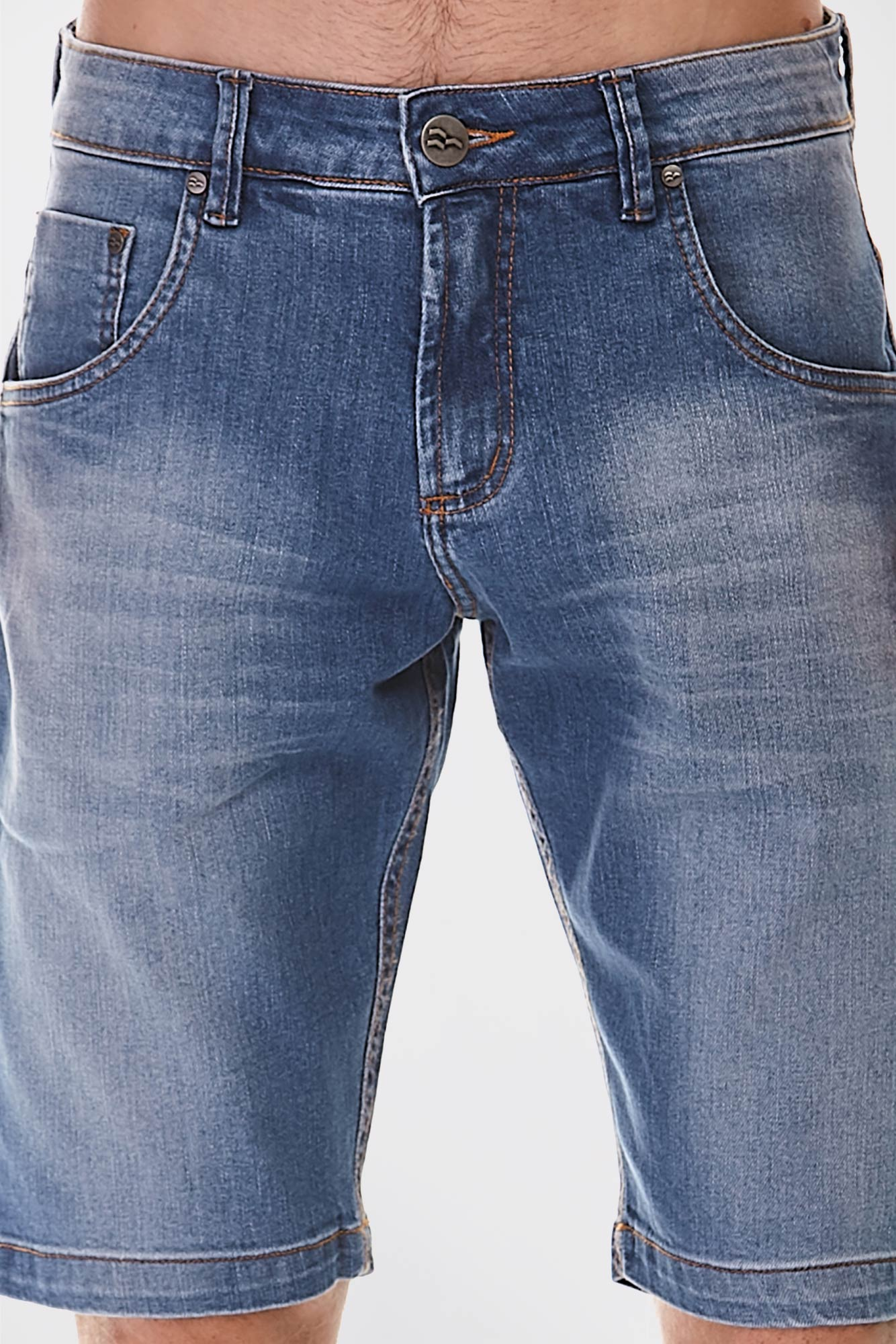 Bermuda Jeans Delavê