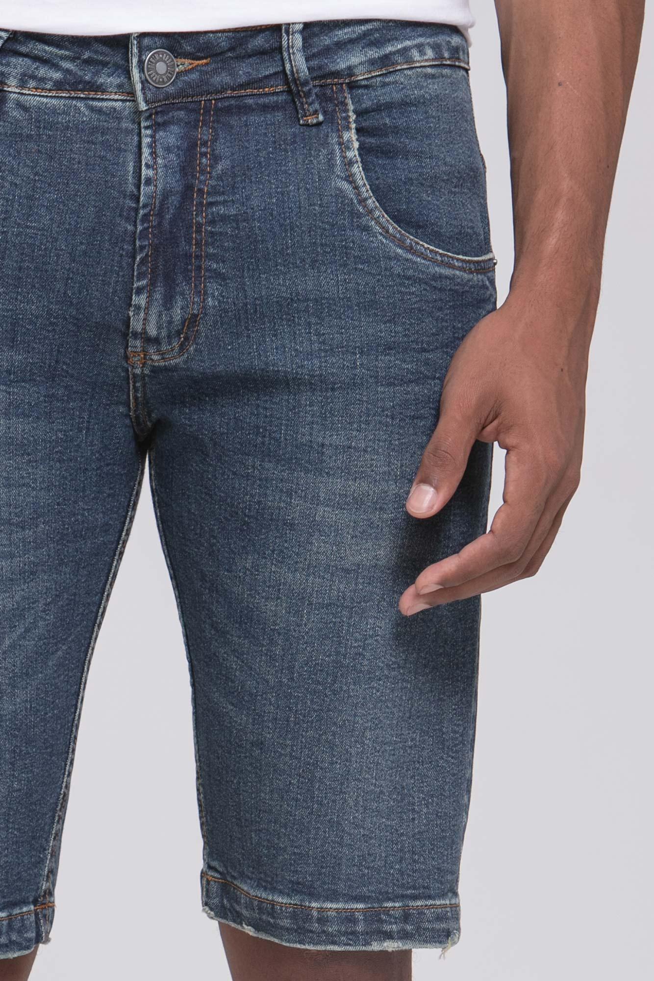 Bermuda Jeans Dirty Wash