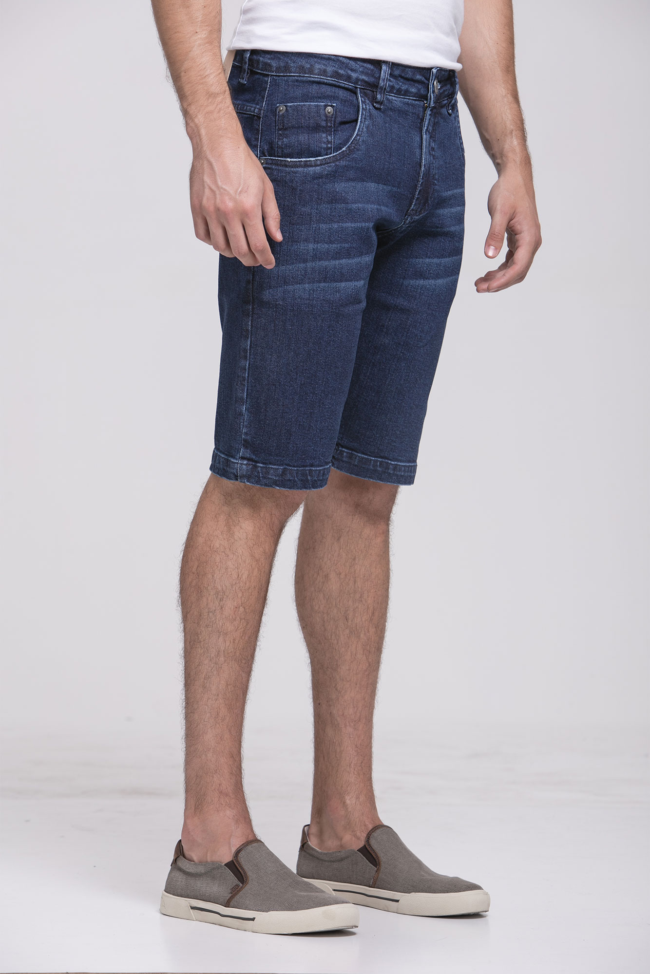 Bermuda Jeans Strong Blue