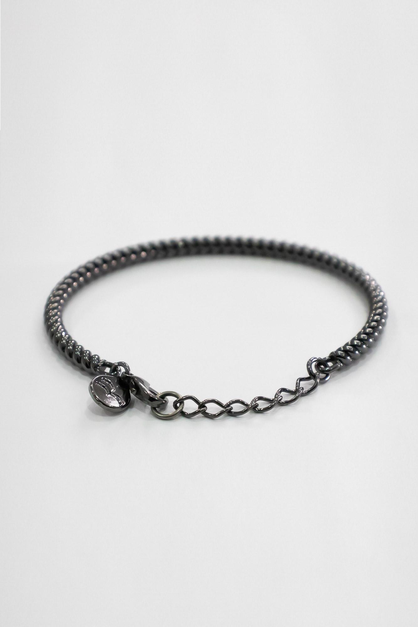 Bracelete Rigido Torcido Onix