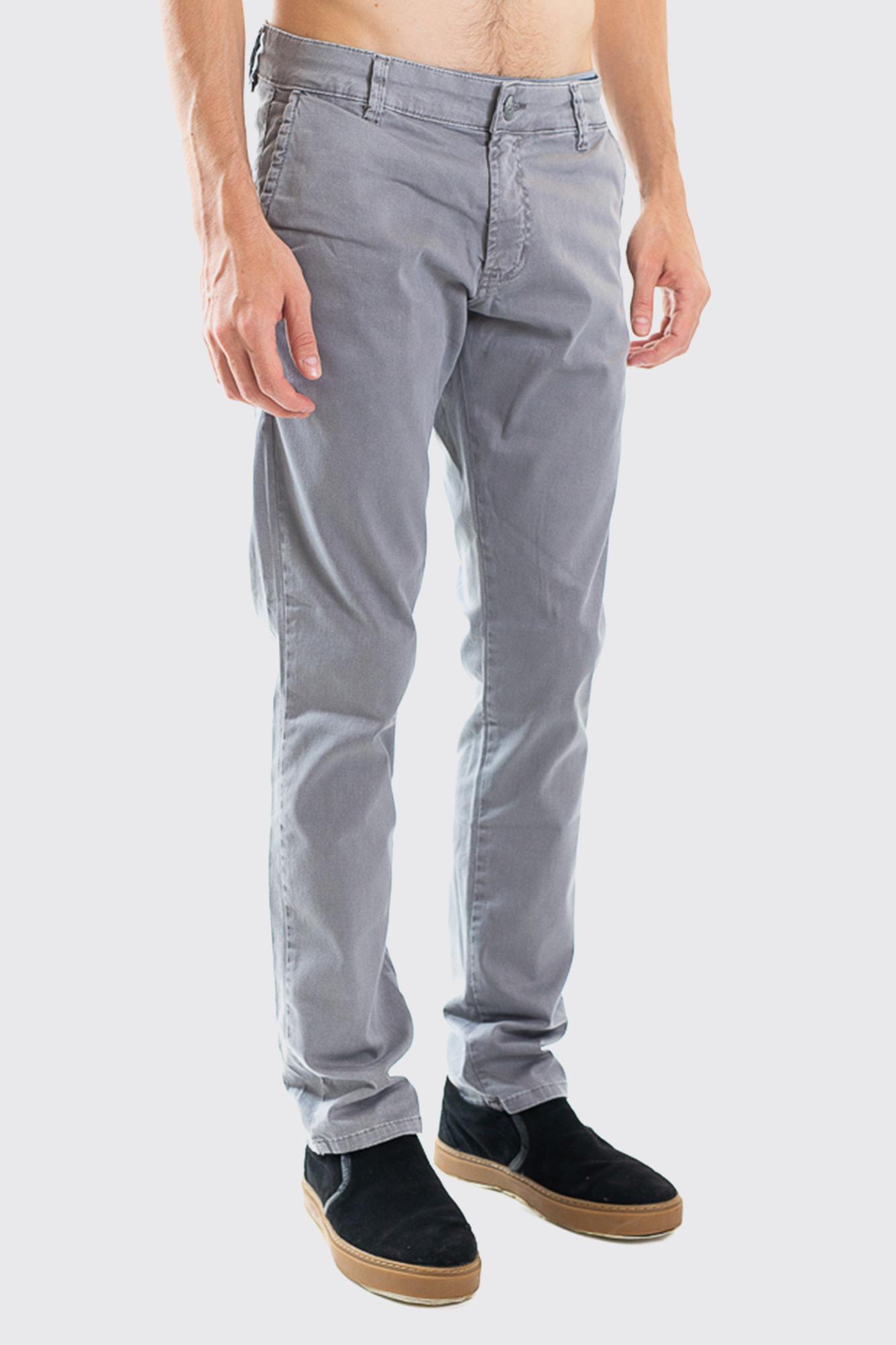 Calça Brim Classic Soft Gray
