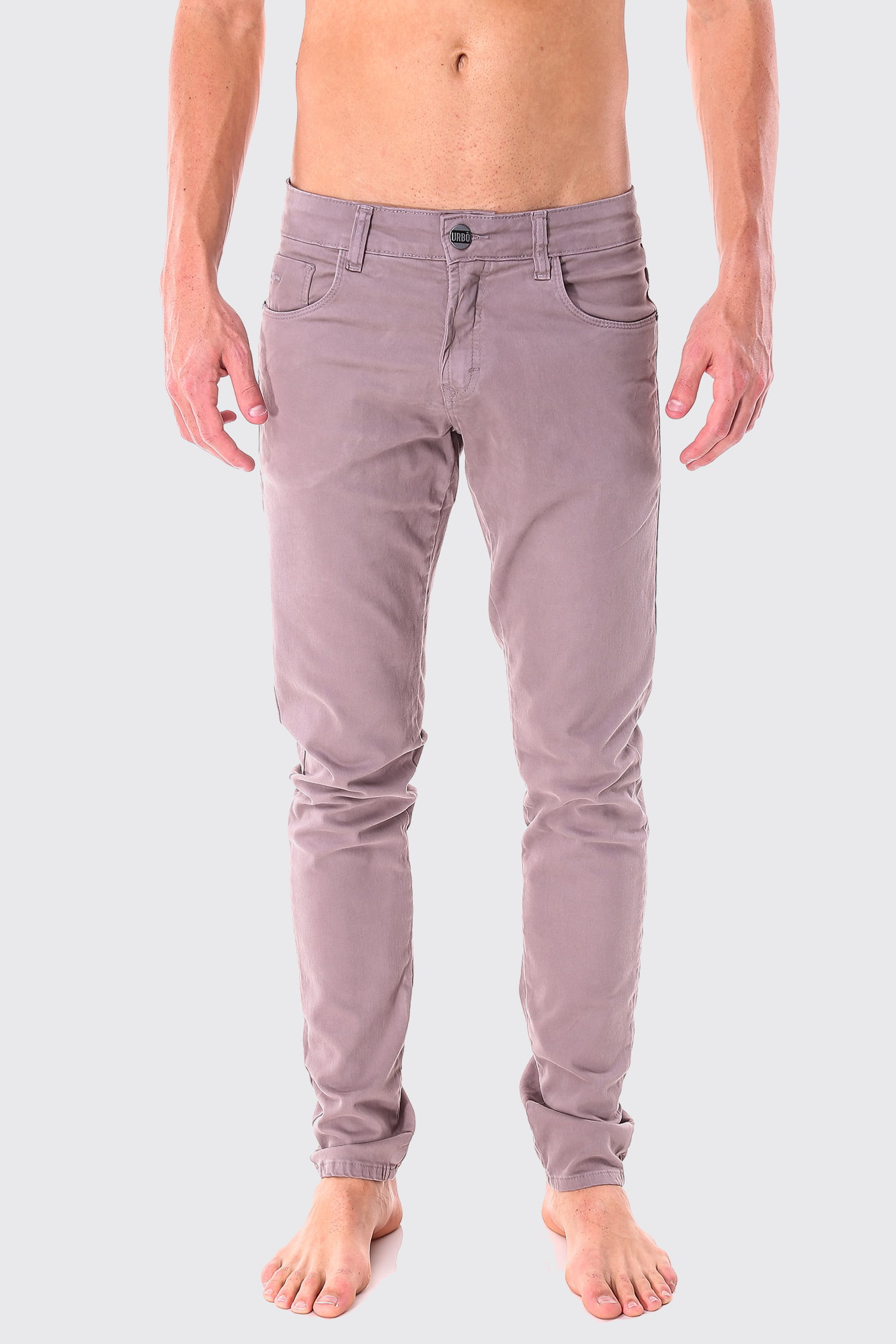 Calça Brim Light Gray