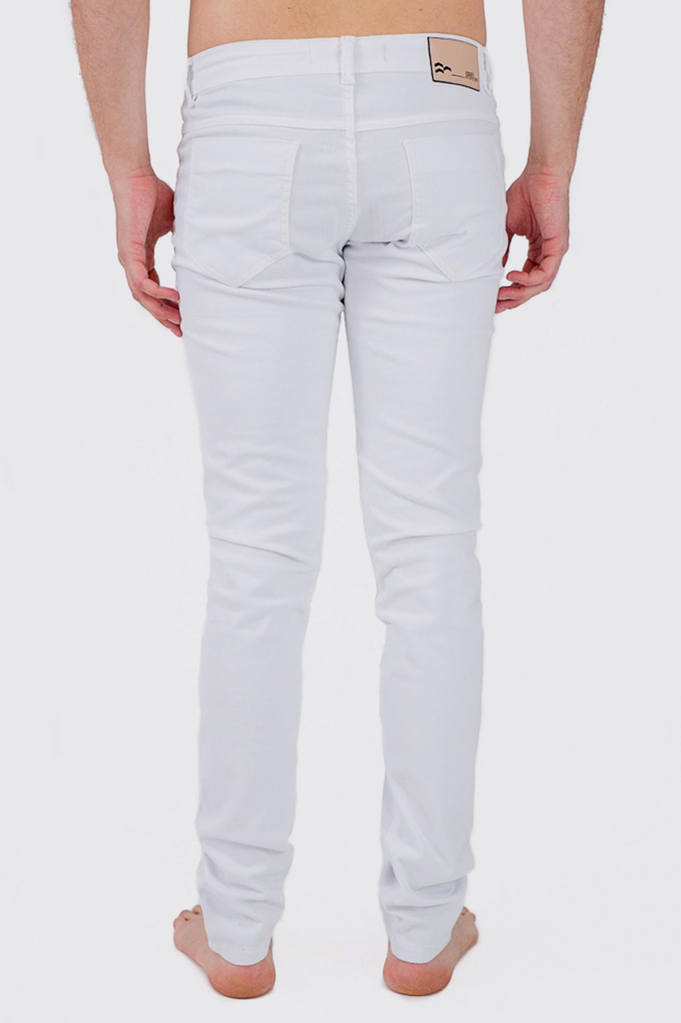 Calça Brim Strong White