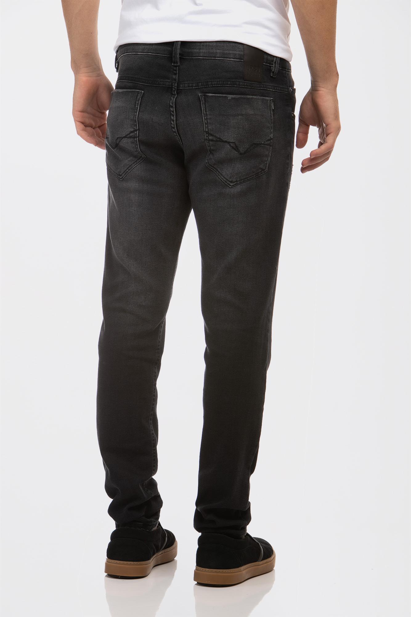 Calça Jeans Slim Fit Black Style