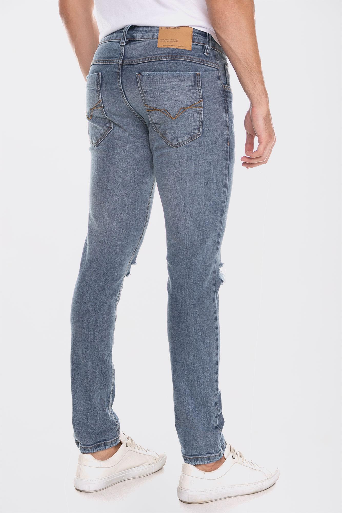 Calça Jeans Slim Fit Classic Wash