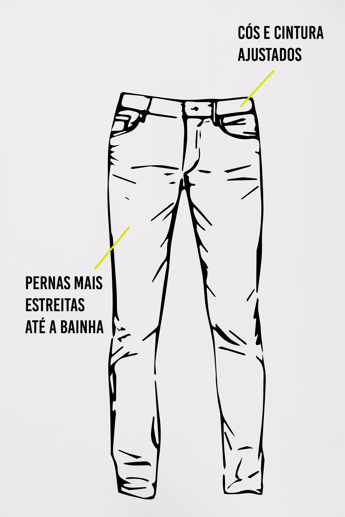 Calça Jeans Slim Fit New Blue