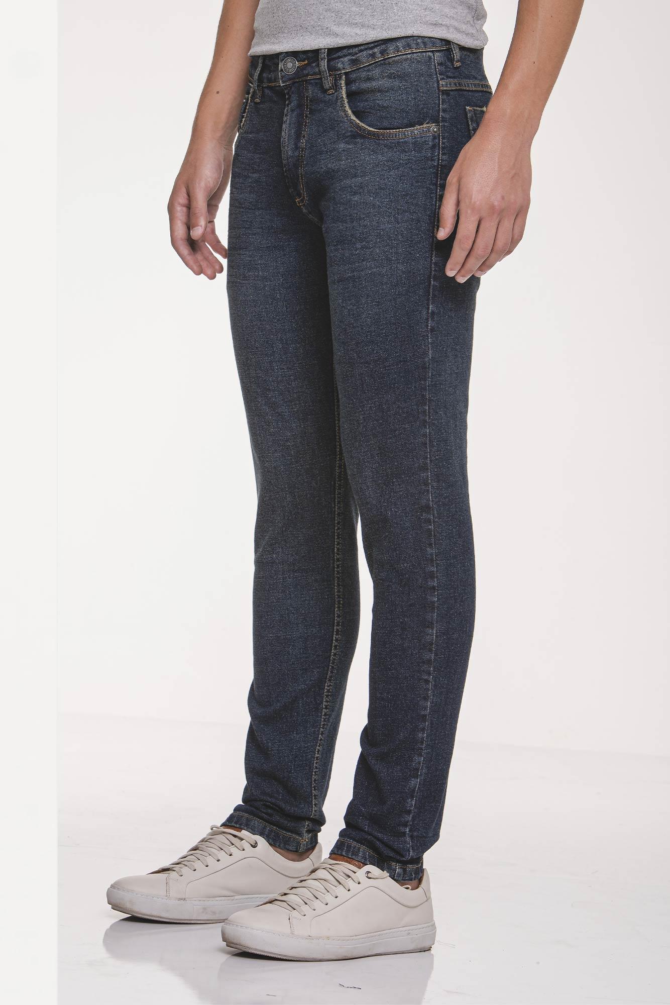 Calça Jeans Slim Deep Clean