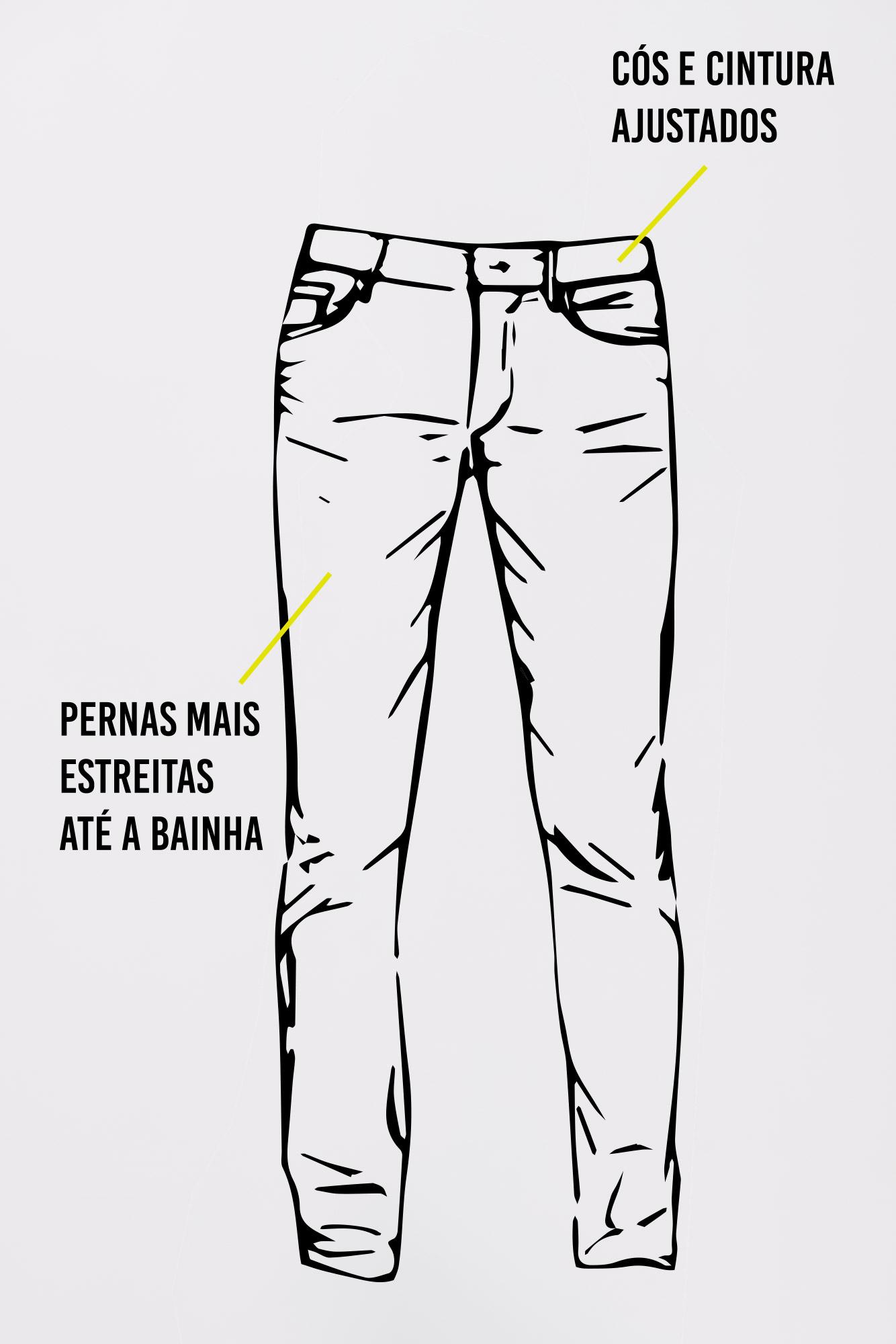 Calça Jeans Slim Fit Robert