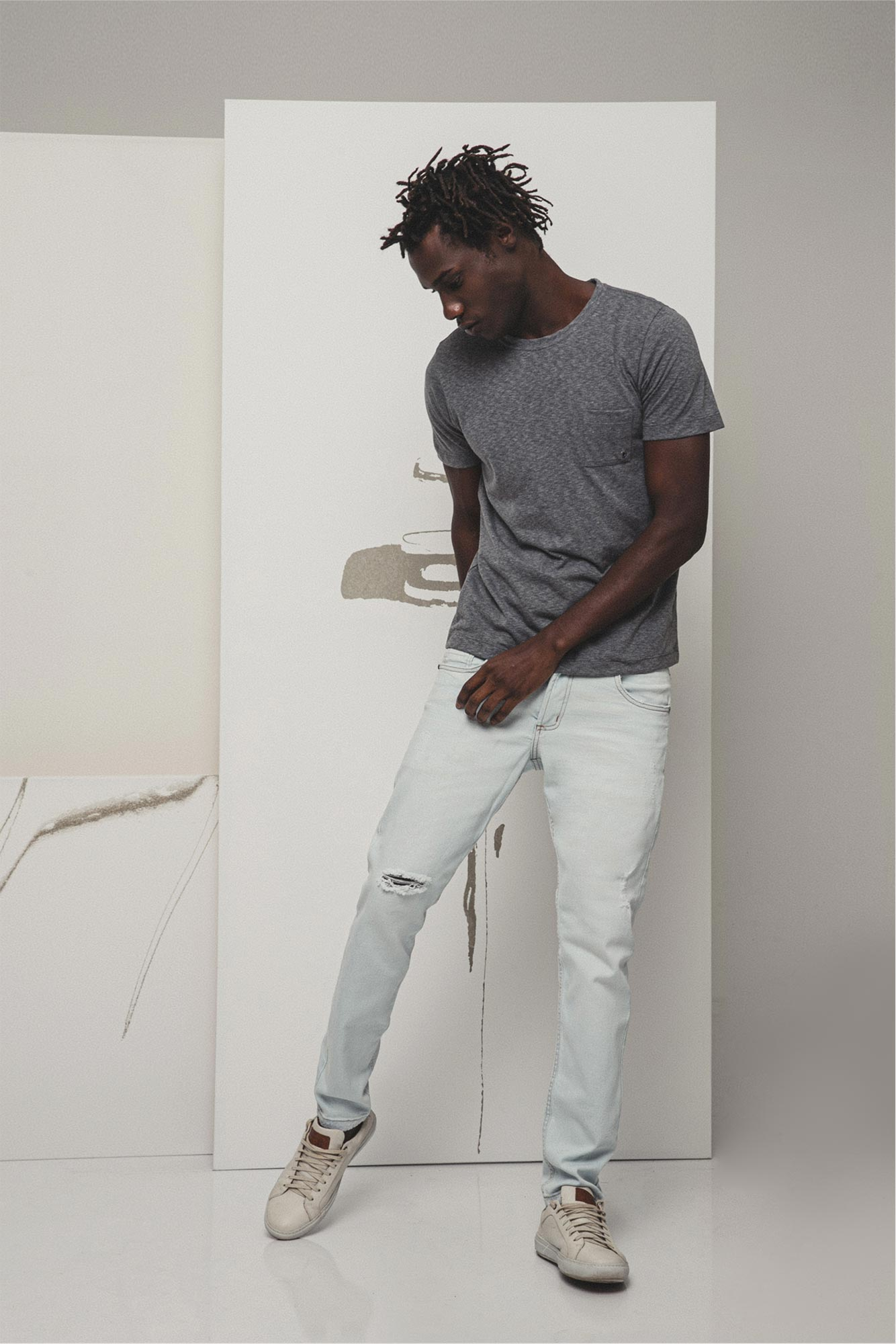 Calça Jeans Slim Fresh Blue