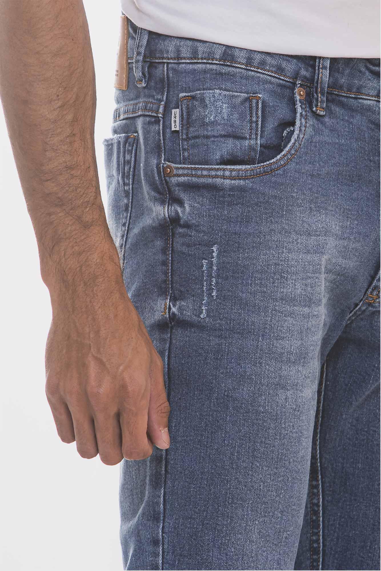 Calça Jeans Soft Destroyed