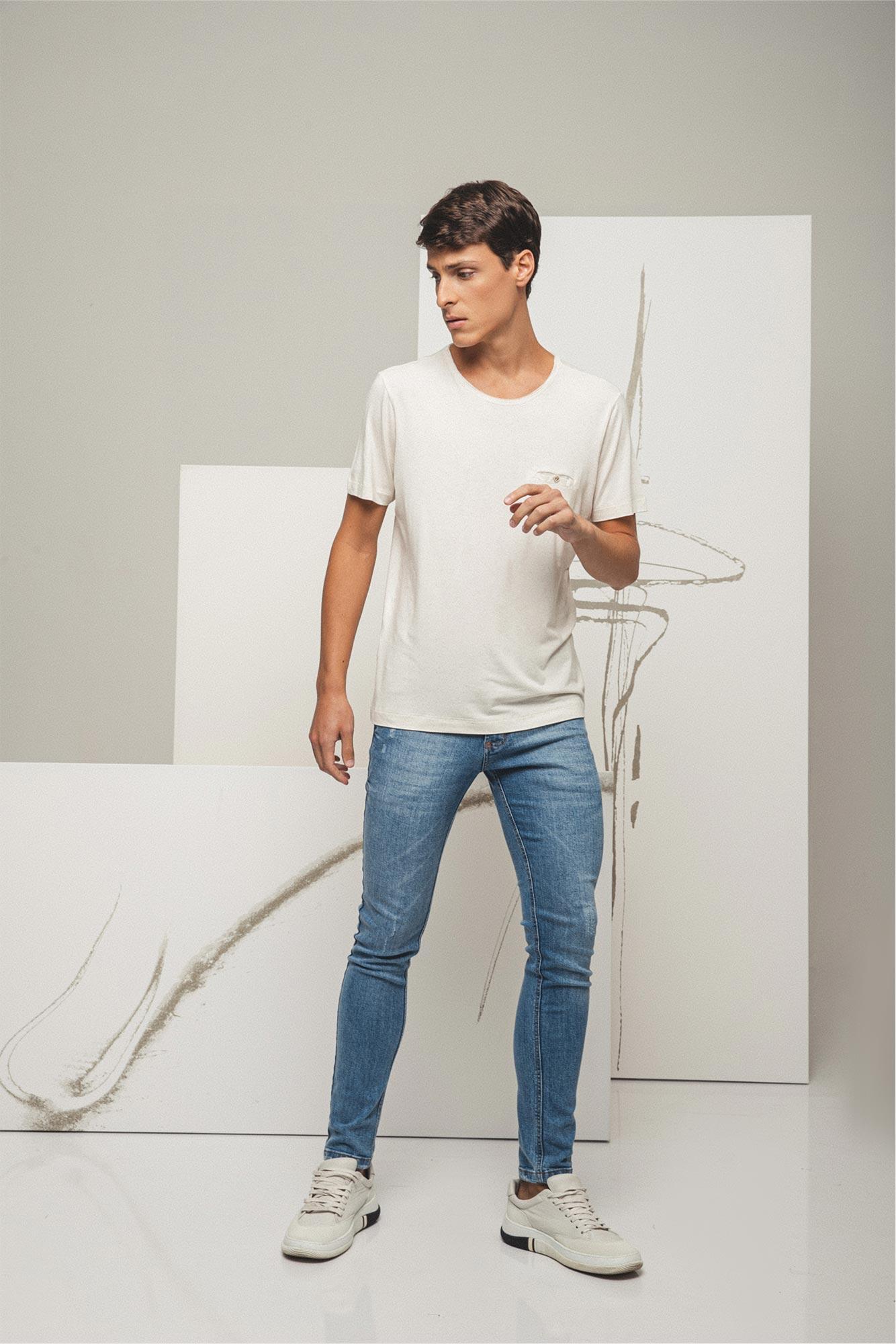 Calça Jeans Soft Rustic Blue