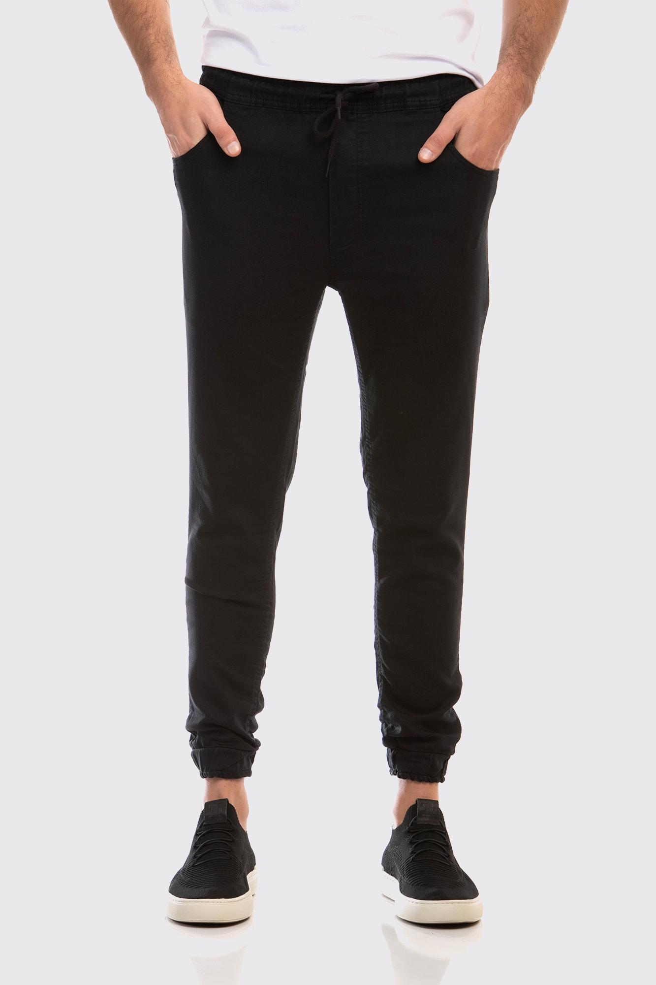 Calça Jogger Jeans Black
