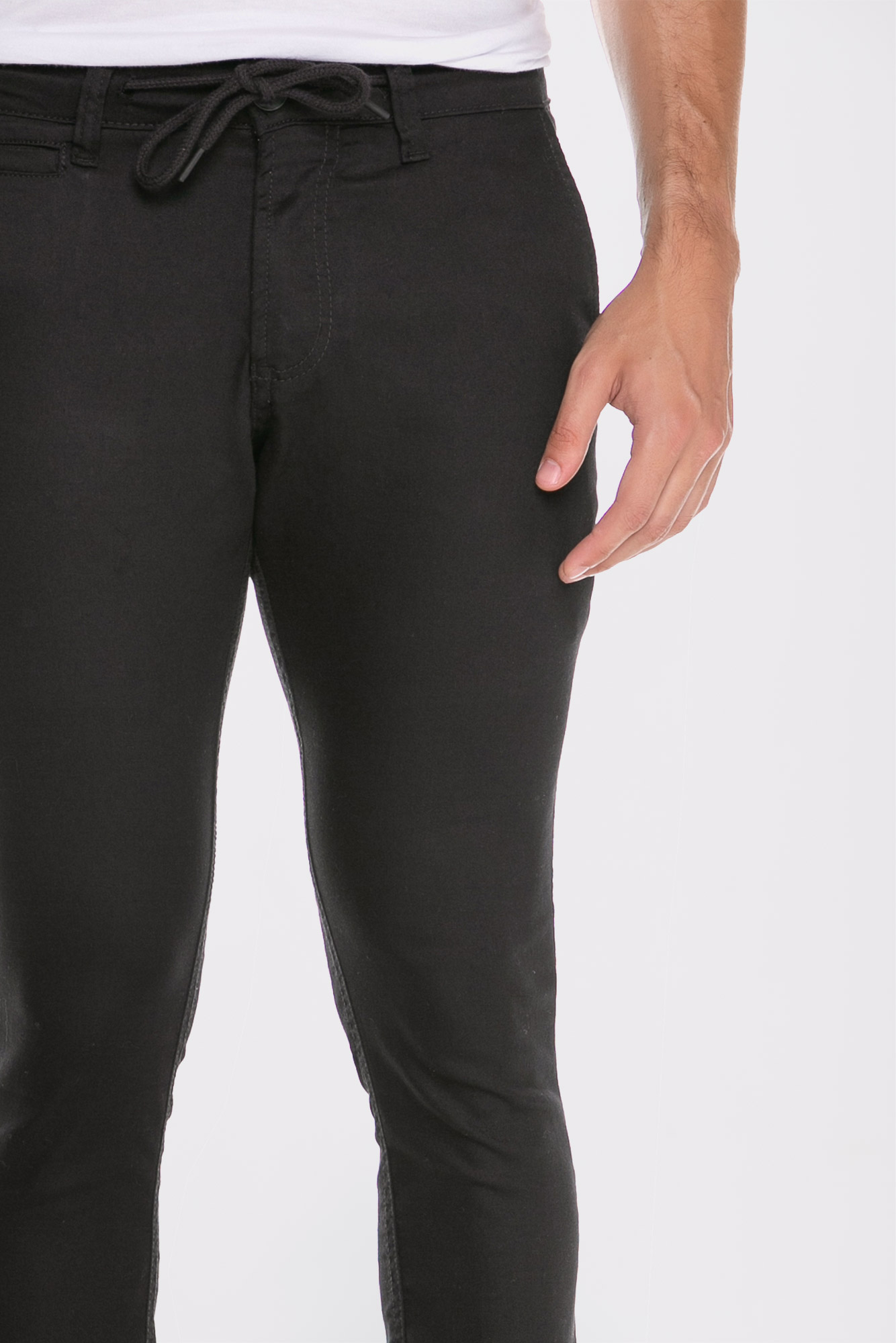 Calça Sarja Black Cordão