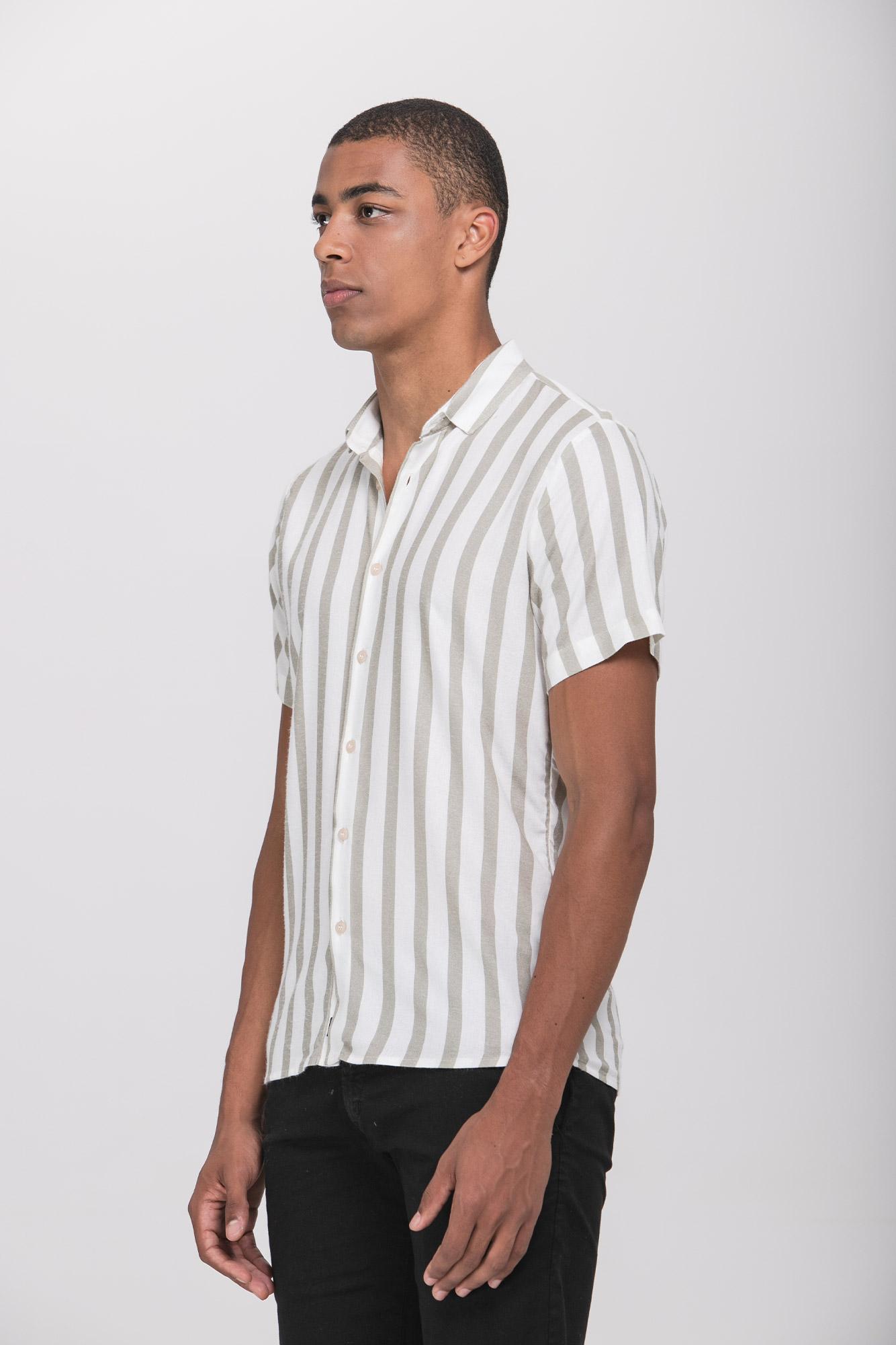 Camisa Mc Soft Lines