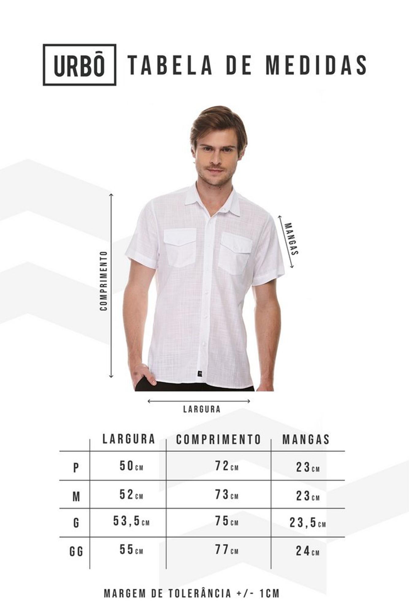 Camisa Manga Curta Soft Lines