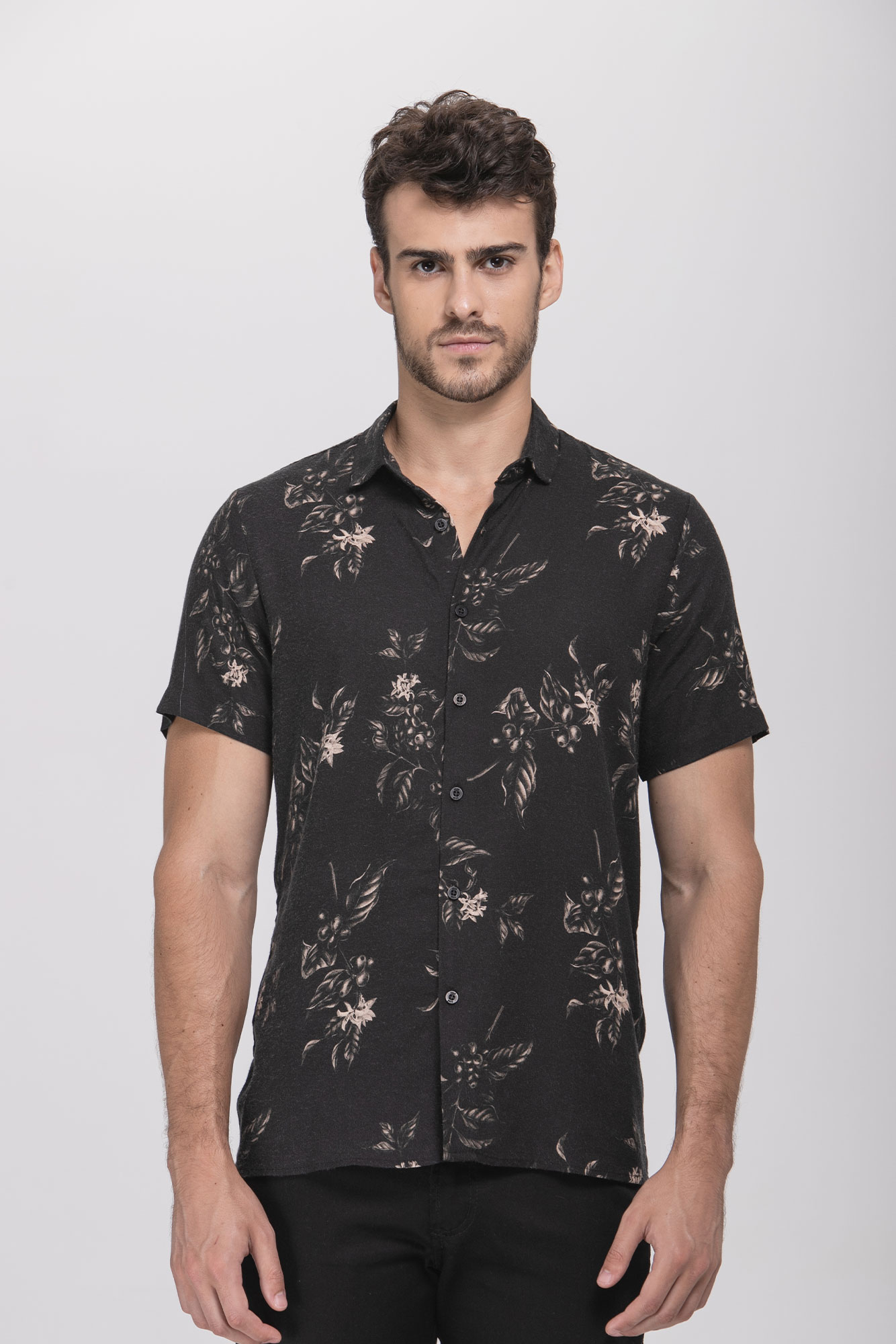 Camisa Mc Folha De Guaraná Preta