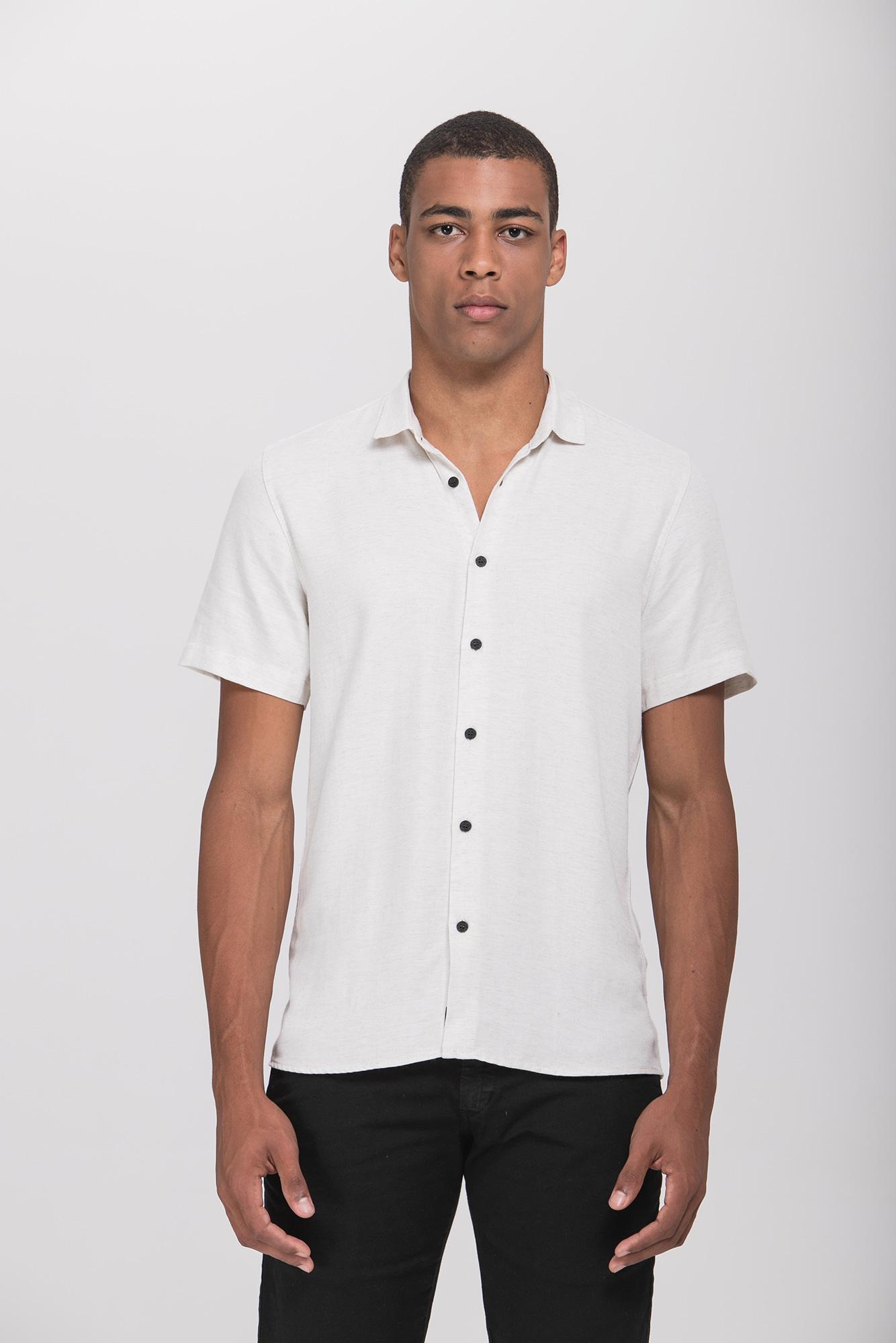Camisa MC Twill Linen