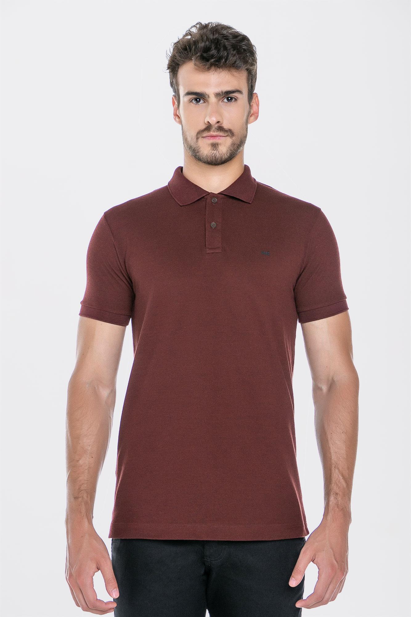 Camisa Polo Coffee Marsala